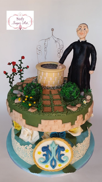 """sugar cake """"don e lo splendore dello storico giardino"""""""