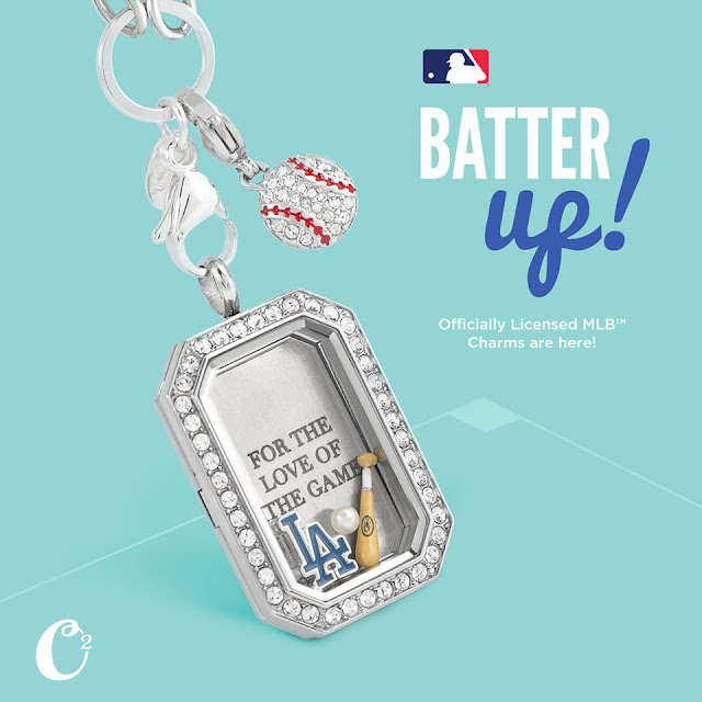 Origami Owl MLB™ Collection available at StoriedCharms.com