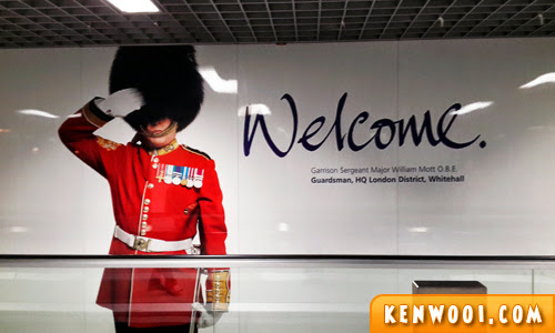 london welcome