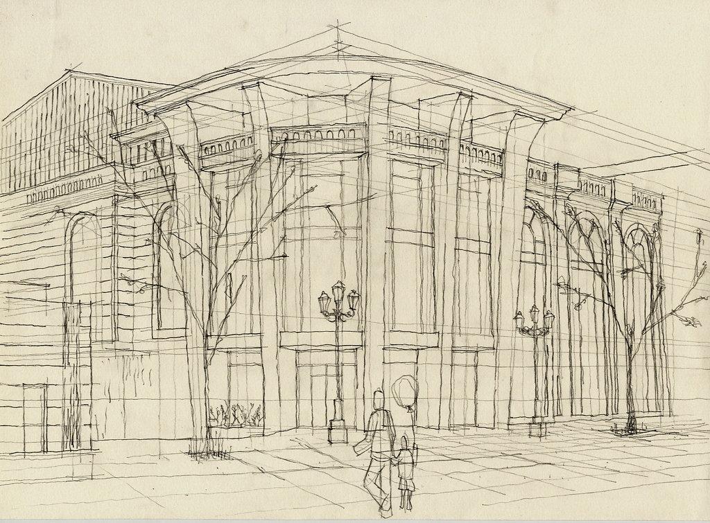 Dise o de interiores escuela de arte de motril el dibujo for 5 tecnicas de la arquitectura