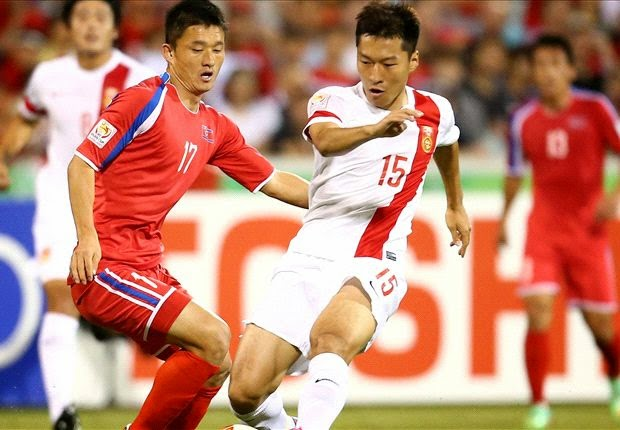 Piala Asia : Tiongkok 2-1 Korea Utara