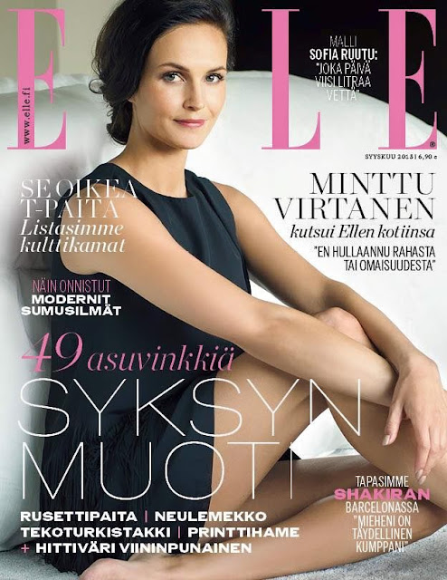 Model @ Minttu Virtanen - Elle Finland, September 2015