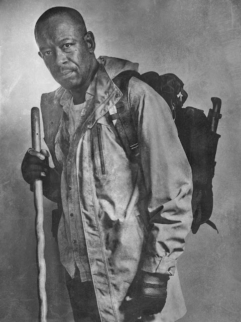 Lennie James como Morgan Jones – The Walking Dead _ sexta temporada, Silver Portraits – Photo Credit: Frank Ockenfels 3/AMC