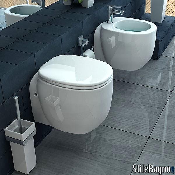 Il design anche per un bagno piccolo stile bagno - Sanitari per bagno piccolo ...