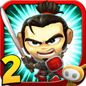 Samurai vs Zombies Defense 2 Icon Logo