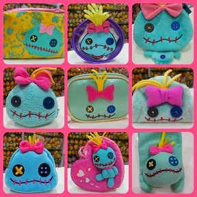 LOVELY SCRUMP POUCHES