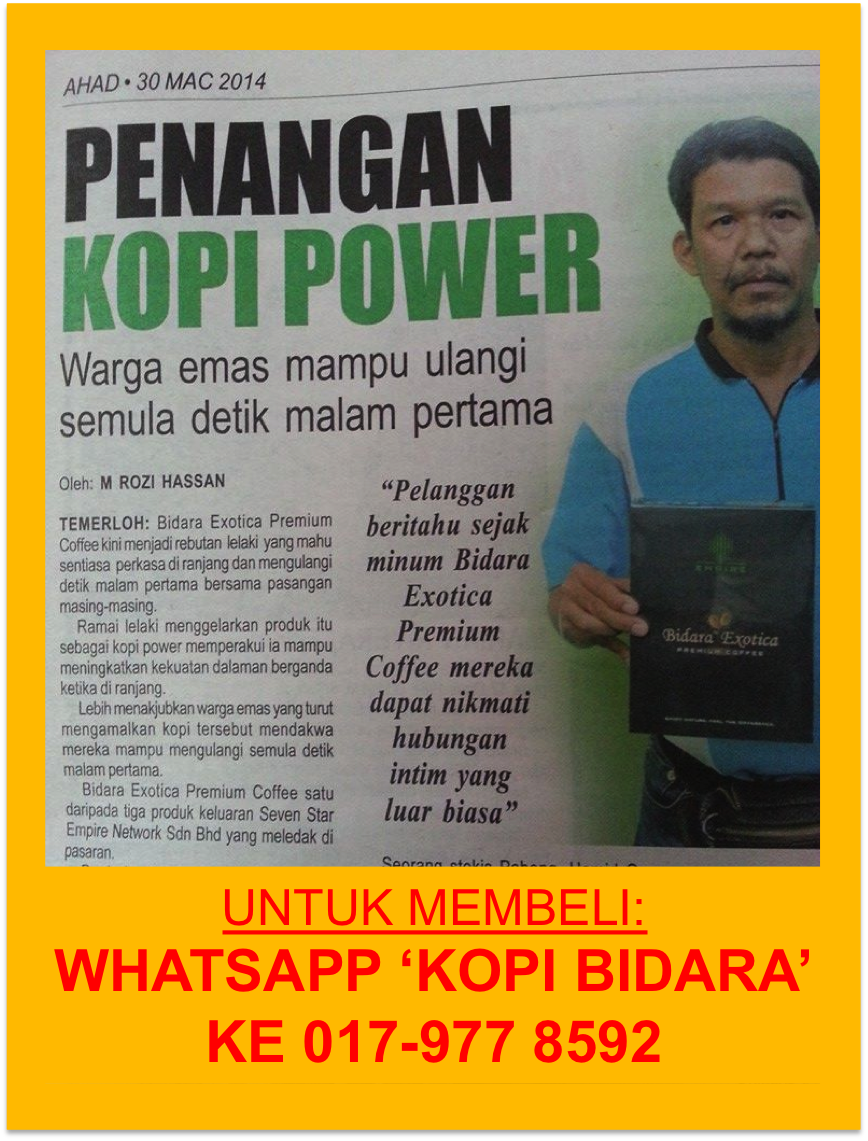 KOPI BIDARA POWER!