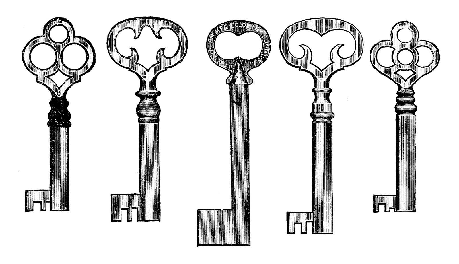 image regarding Printable Keys named Electronic Stamp Style and design: Printable Keys Electronic Collage Sheets