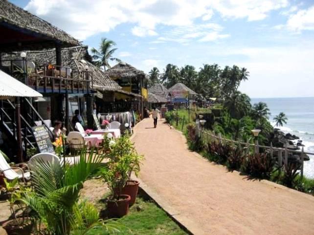 Varkala best honeymoon destinations in india for Honeymoon spots in virginia