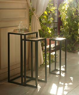 3 estilos para un pedestal - Pedestal para plantas ...
