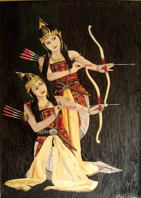 lukisan gombal
