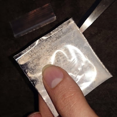 Cutting Sample baggie