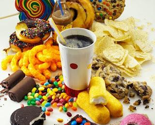 Consumir alimentos refinados