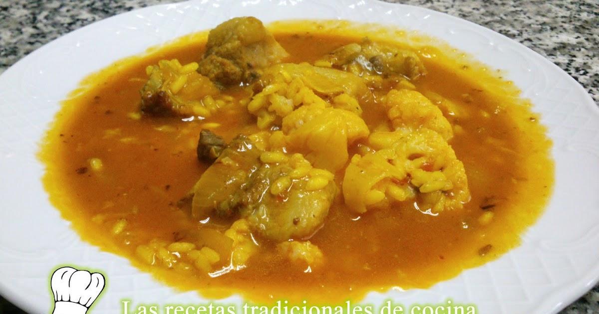 Receta de arroz caldoso con costilla y coliflor recetas - Arroz caldoso con costillas y alcachofas ...