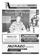 Tapa Tacuarembó Ahora Edición N° 47
