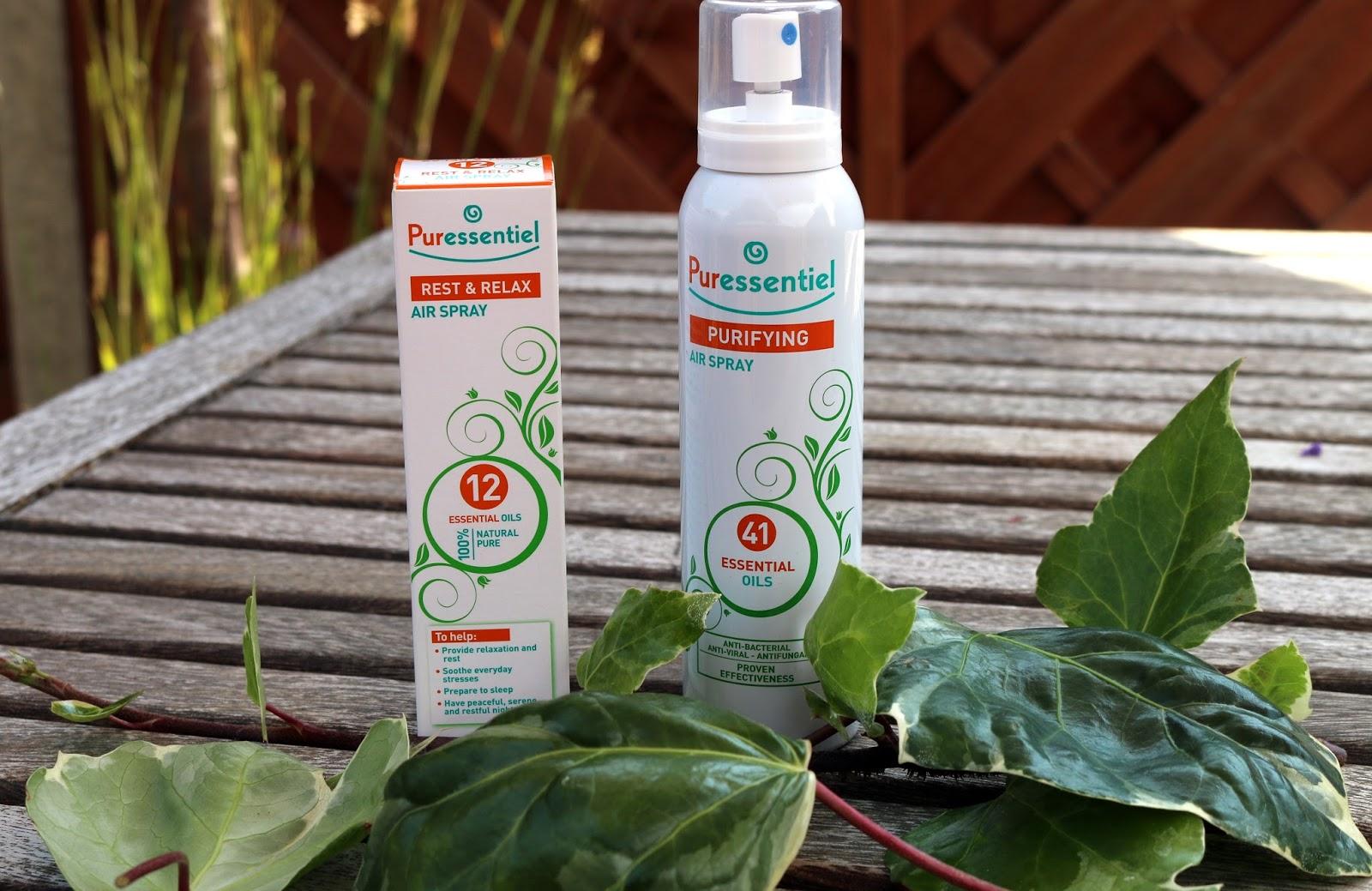 Puressentiel purifying and sleep sprays