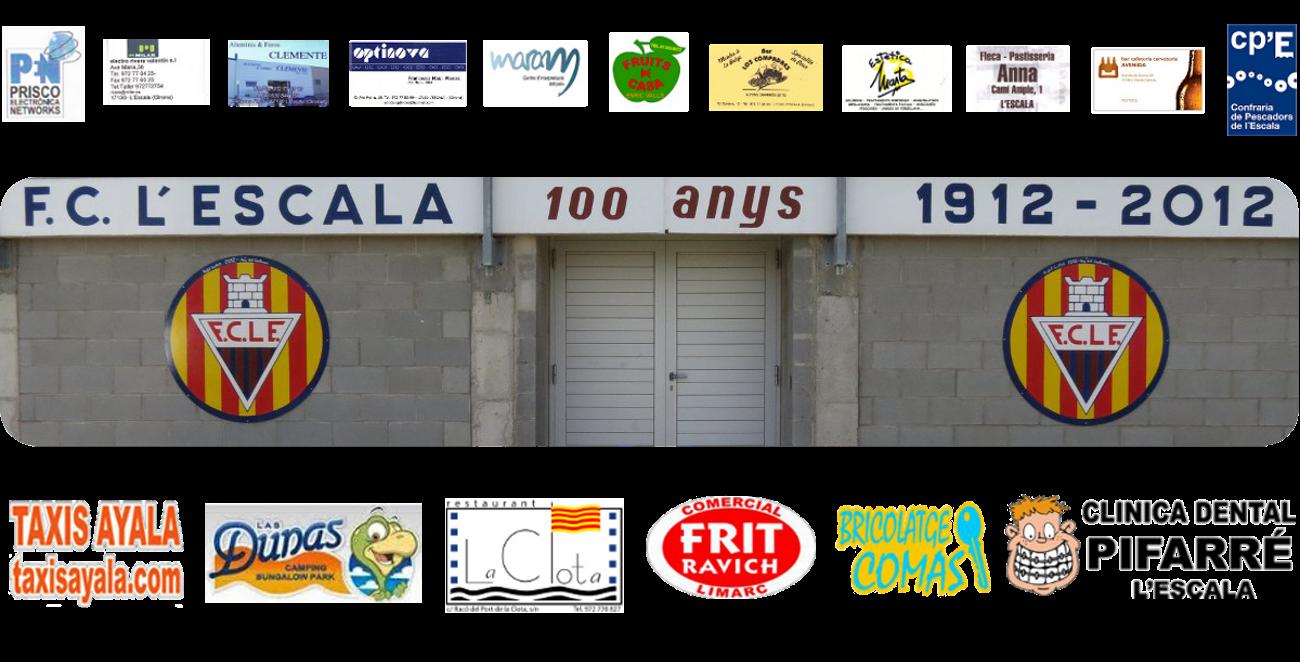 FC L'Escala: Patrocinadors
