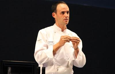 Chef Iñigo Lavado en Gastronomika 2012 Blog Esteban Capdevila