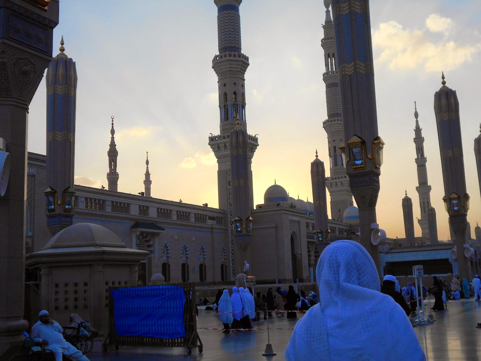 Pengalaman mendebarkan di Masjid Nabawi Madinah