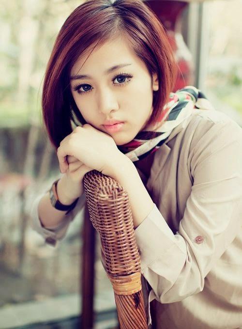 korean girls short hair style latest photos 2014 world