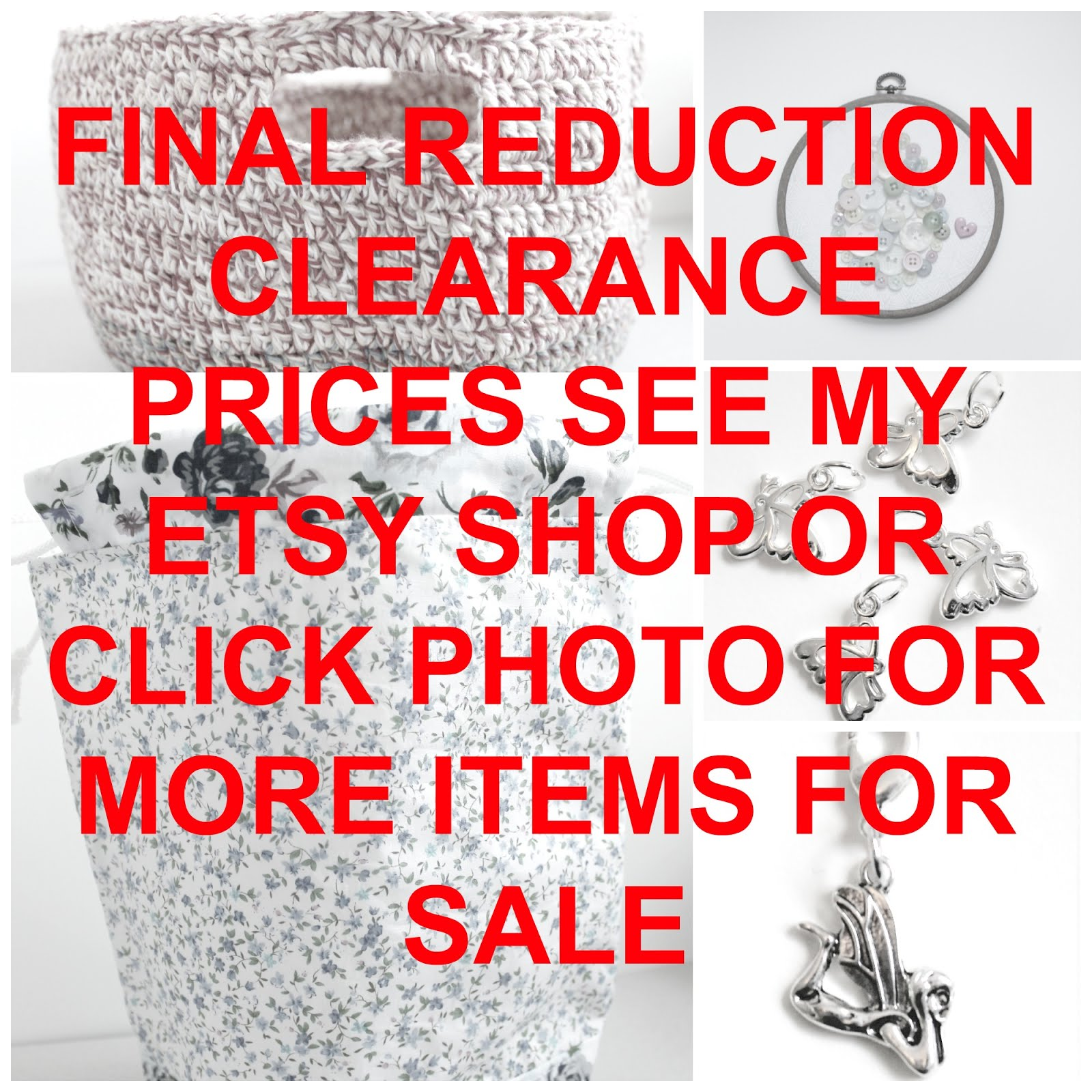 Sale - click photo to go to sale items post