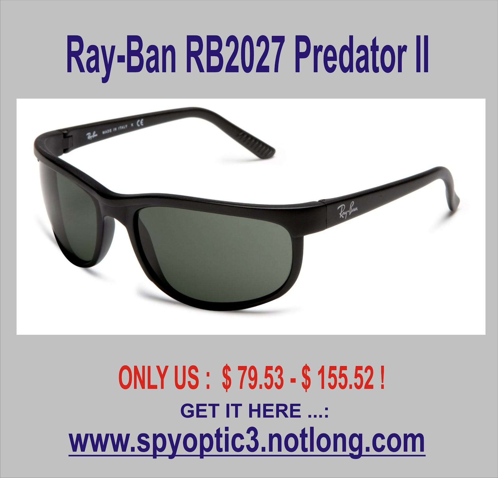 http://4.bp.blogspot.com/-VaLOuXsPVgs/UED2G66AfyI/AAAAAAAABKQ/GGKL-Ulrq3c/s1600/Ray-Ban+RB2027+Predator+II+Sunglasses-+62mm.jpg