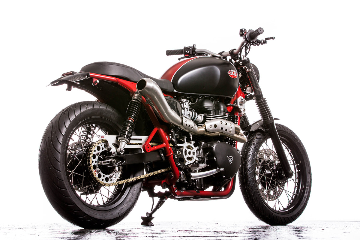 racing caf triumph bonneville se by down out caf racers. Black Bedroom Furniture Sets. Home Design Ideas