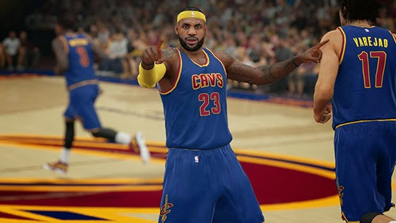 NBA 2K15 Cavsfanatic Jersey