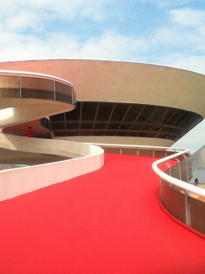 Oscar Niemeyer Museum, Niteroi, Rio