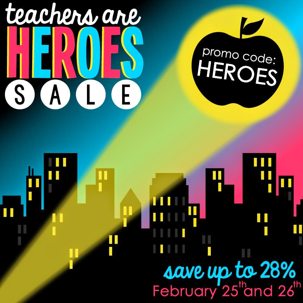 Click and Save 28% During the TpT Sale!
