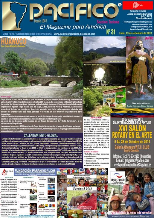 Revista Pacífico Nº 31 Turismo