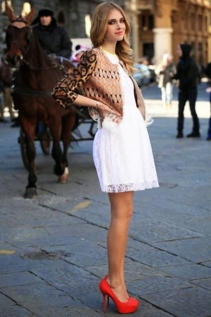 Chaqueta para vestido blanco