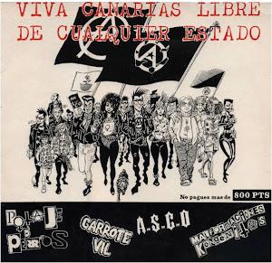 """""""VIVA CANARIAS LIBRE DE CUALQUIER ESTADO""""...LP en vinilo, nos enteramos de su edición por casual.."""