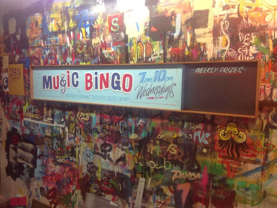 Chris dobell signs hand painted custom hand painted bingo sign panel north america