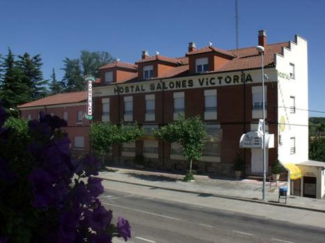 HOSTAL RESTAURANTE SALONES VICTORIA, en Santa Marina del Rey (León)