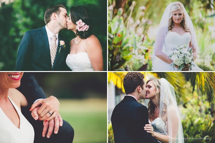 "romantic bride and groom wedding day photos"""