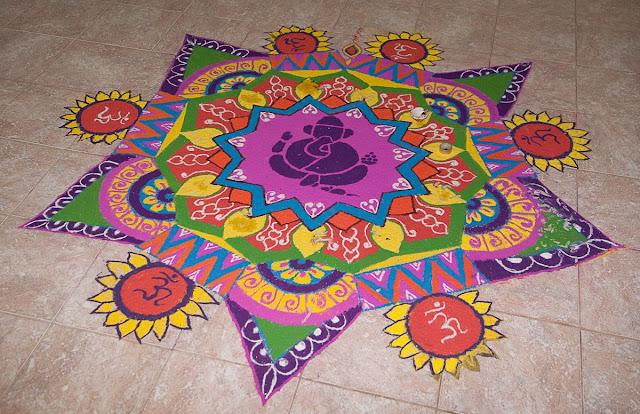 Dhanteras Rangoli Design 19