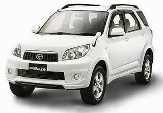 Daftar Harga Toyota Rush Terbaru Tahun 2014
