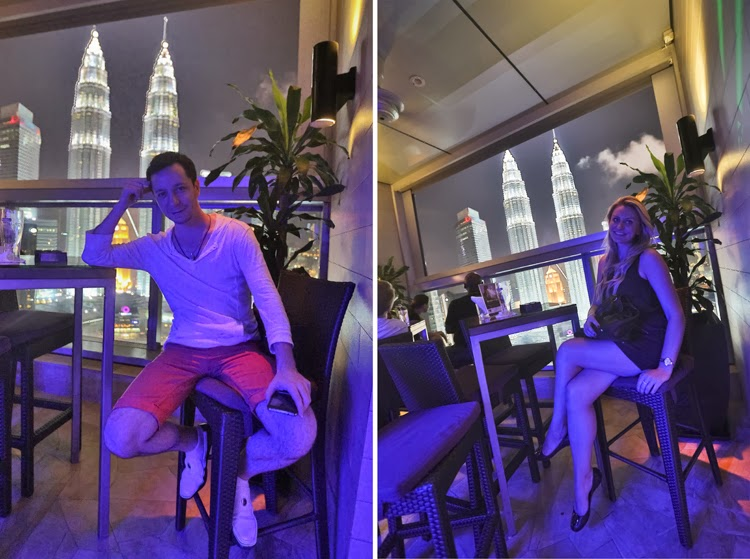 Sky Bar - With the view at Twin Towers, Kuala Lompur skybar