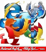browsers Internet Explorer, FireFox, Chrome, Opera