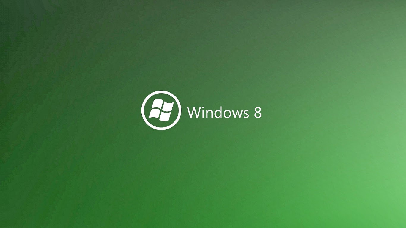 Green Windows 8 Background | Greenish Windows 8