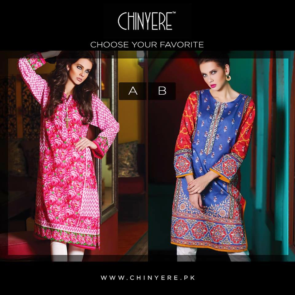 Chinyere Spring Summer Lawn Collection 2015
