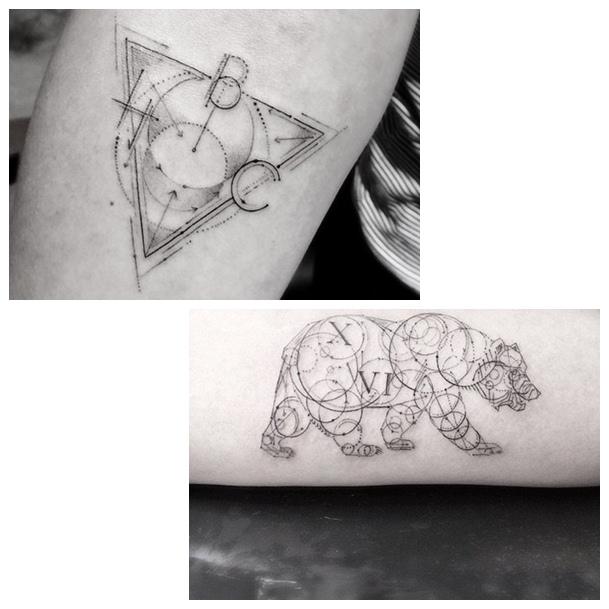 Fine-Line Tattoos Dr. Woo