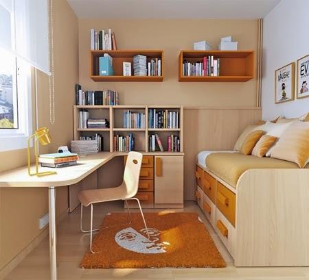 Decoracion de dormitorios decoracion de habitaciones - Dormitorios para habitaciones pequenas ...
