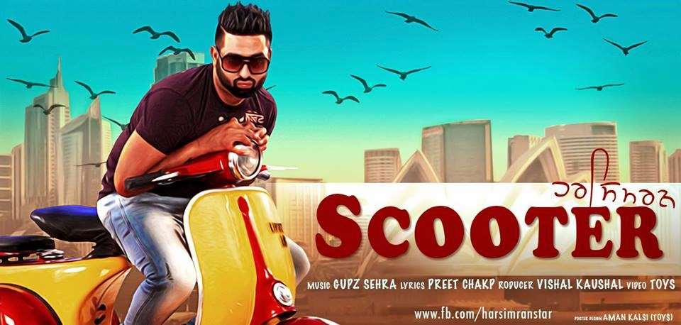 Scooter (Chetak) - Harsimran