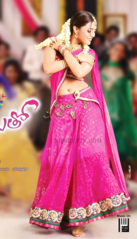 Nisha agarwal in half saree from Saradaga ammayitho movie