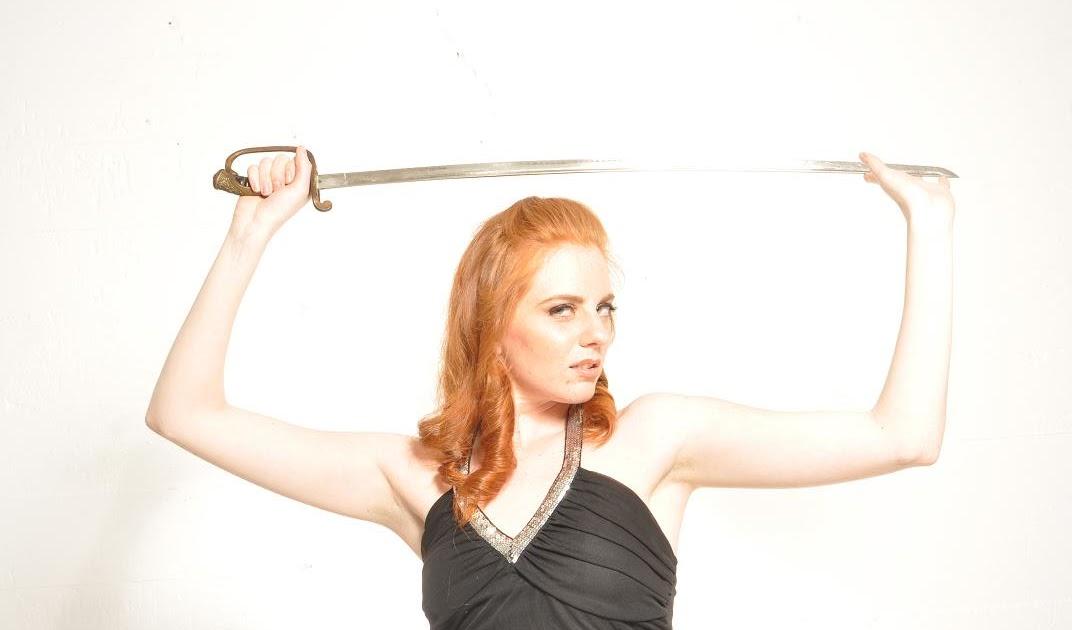 Elizabeth Rhoades - Redhead Model, Actress, Dancer: Inspired by Xena Warrior Princess!