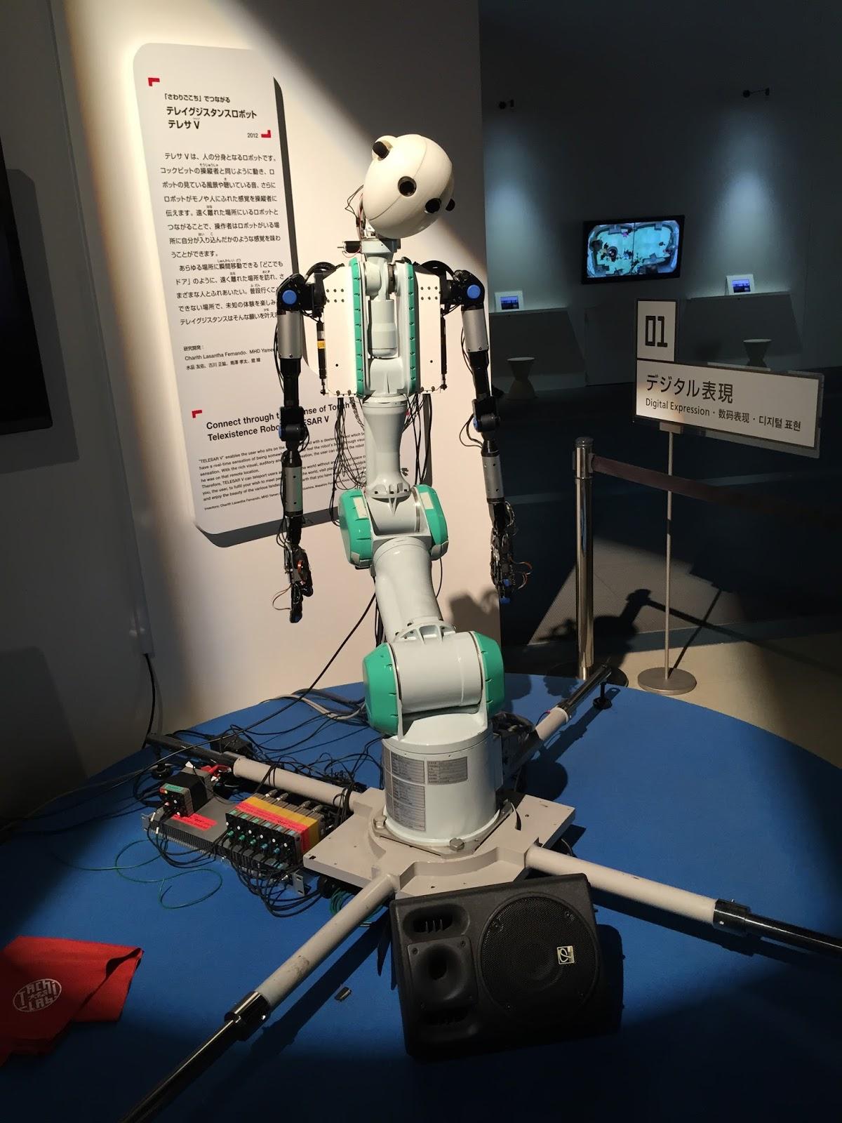 Miraikan: Museo nacional de ciencia y tecnología emergente (Japón) - Parte II...