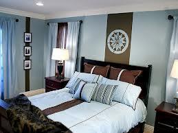 dormitorio marrón celeste