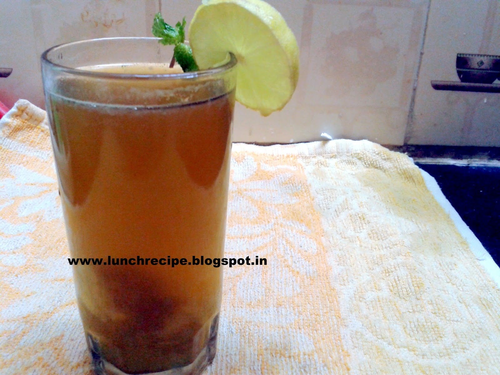 How to make Nimboo Adrak Pani | निम्बू अदरक पानी - Nimboo Adrak Pani Recipe | Nimbu Adrak Drink